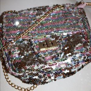 Girls sequin purse